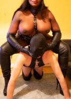 Mistress Kisha And TV Slave - domination in South Belfast